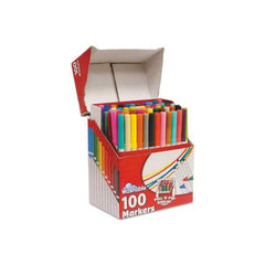 Rose Art Washable Supertip 100 Count Markers