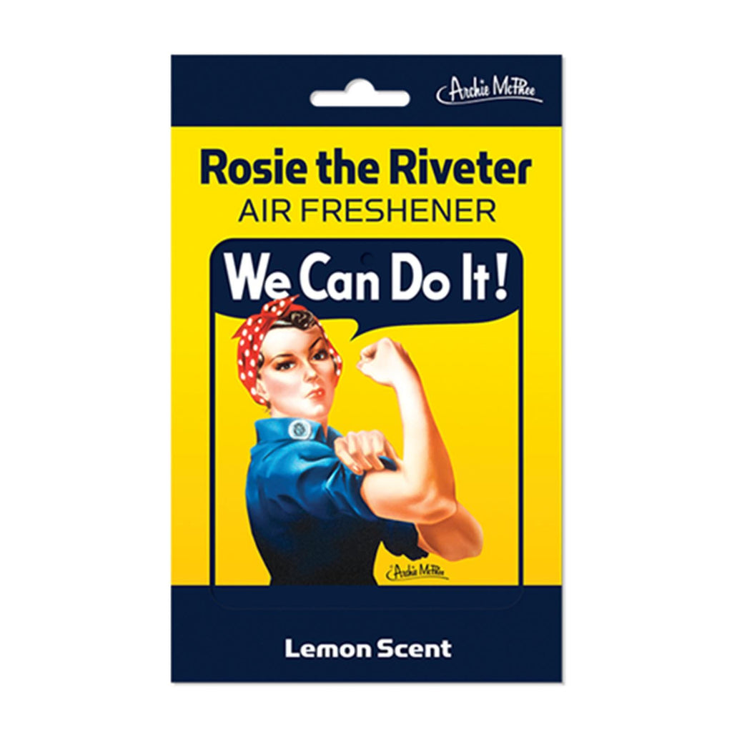 Rosie The Riveter Deluxe Air Freshener