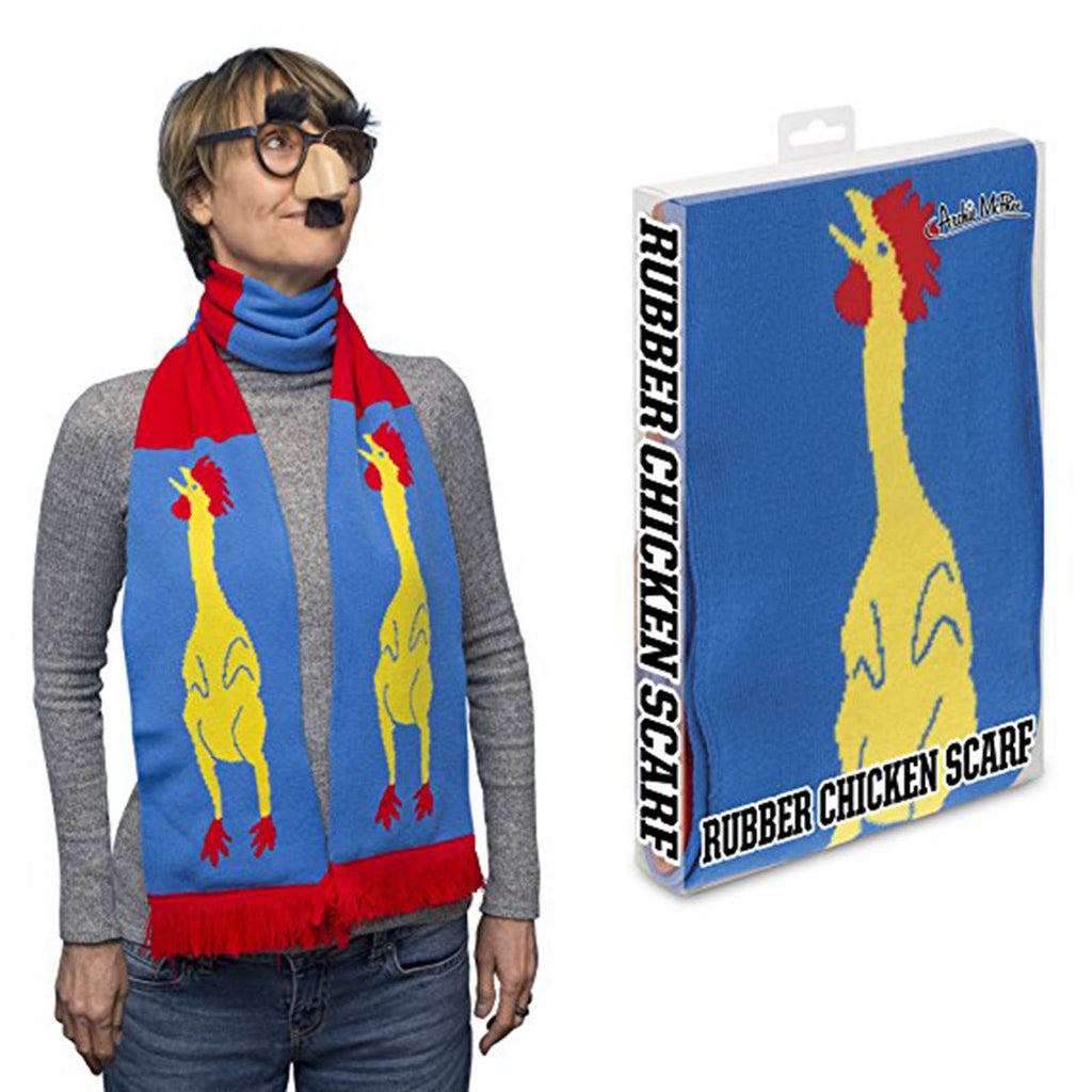 Clothing - Rubber Chicken Soft Knit Acrylic Scarf