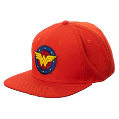 Bioworld DC Wonder Woman Classic Logo Red Snapback Hat