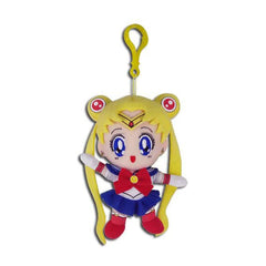 Sailor Moon 5 Inch Plush Bag Clip