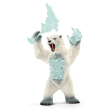 Schleich Eldrador Blizzard Bear With Weapon Figure 42510