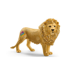 Schleich Lion Special Gold Edition 85 Years Animal Figure