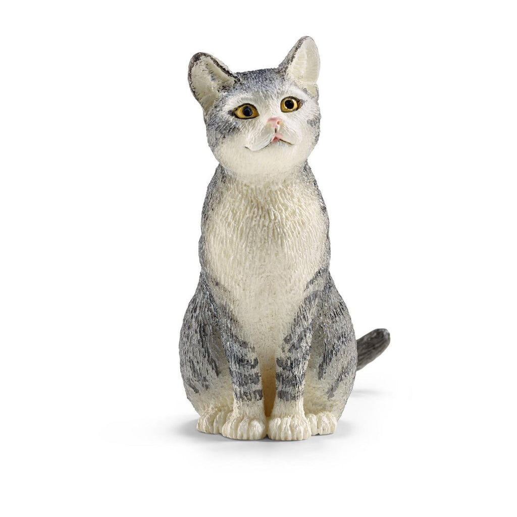 Schleich Cat Sitting Animal Figure