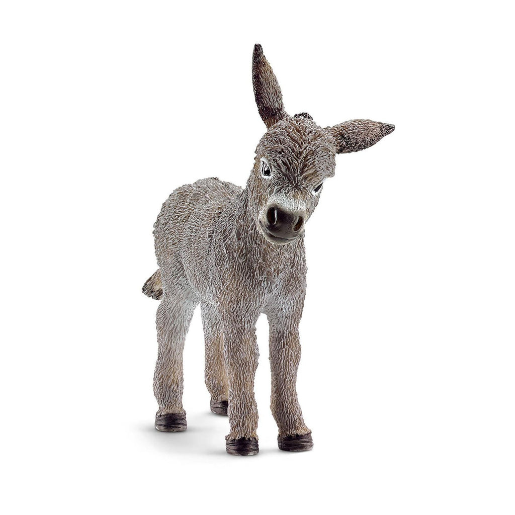 Schleich Donkey Foal Animal Farm Figure
