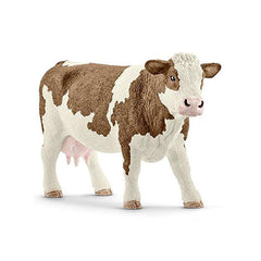Mammal Figures - Schleich Simmental Cow Animal Farm Figure
