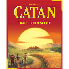 Board Games - Settlers Of Catan Board Game 1 To 4 Players