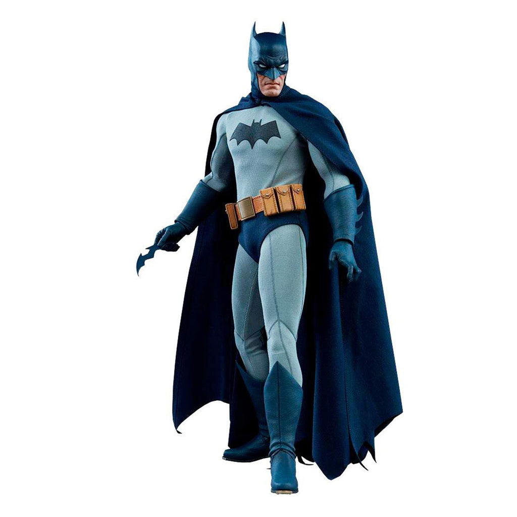 Sideshow Dark Knight DC Blue Gray Suit 12 Inch Action Figure