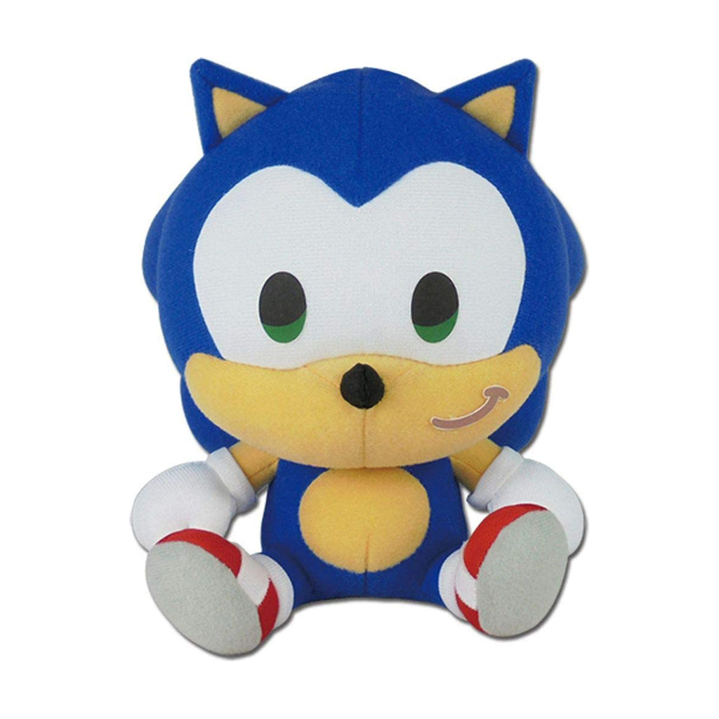 Sonic The Hedgehog SD Sonic Sitting 7 Inch Plush Figure
