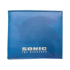 Sonic The Hedgehog Sonic Blue Bifold Wallet