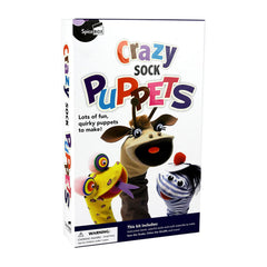 Spice Box Crazy Sock Puppets