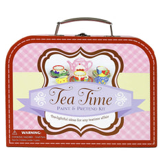 Spice Box Suitcase Tea Time Paint And Pretend Kit