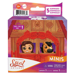 Spirit Untamed Surprise Mini Horse And Friend Blind Box Set