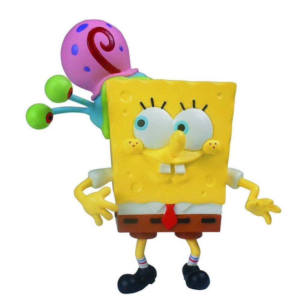 SpongeBob SquarePants Mini Figure World Series 1 Spongebob With Gary