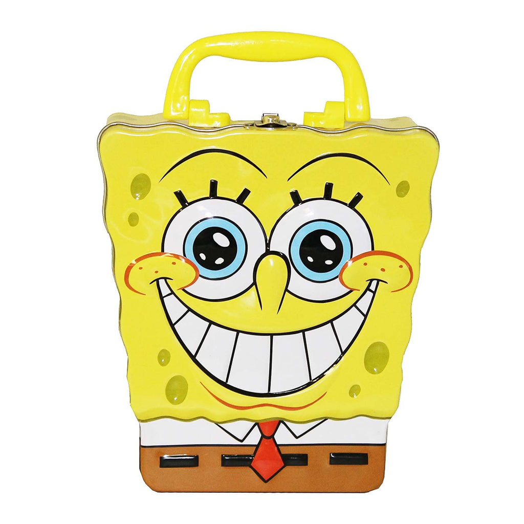 Spongebob Happy Shaped Metal Tin Box