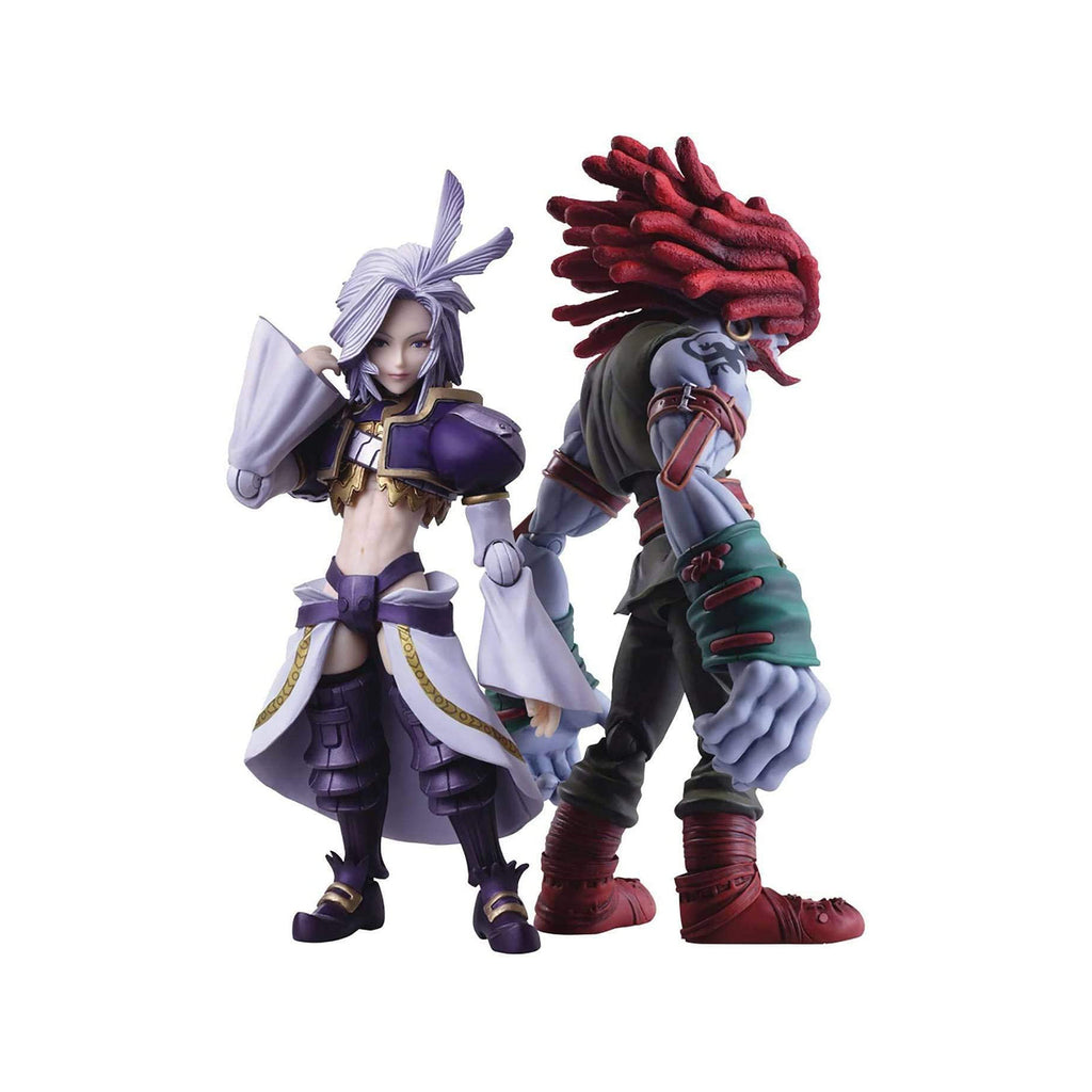 Square Enix Final Fantasy IX Kuja And Amarant Coral Figure Set