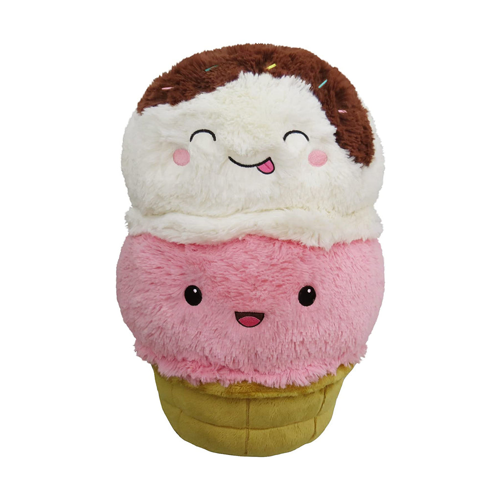 Squishable Comfort Food Ice Cream Cone 15 Inch Plush Figure
