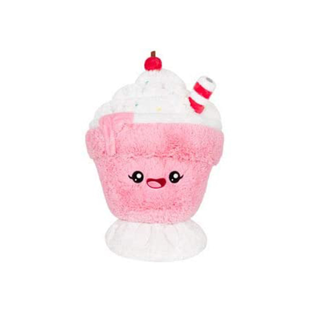Squishable Comfort Food Strawberry Milkshake 16 Inch Plush Figure