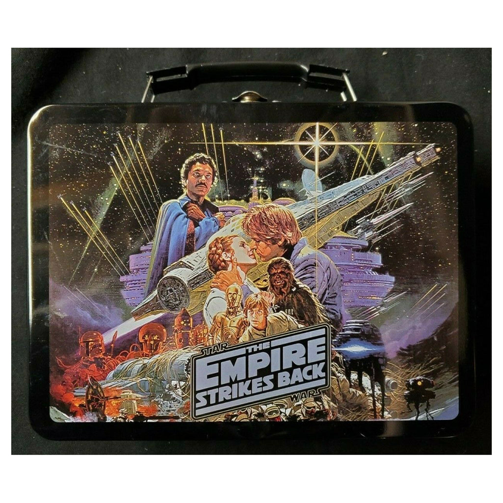 Star Wars The Empire Strikes Back Large Metal Lunchbox Tin