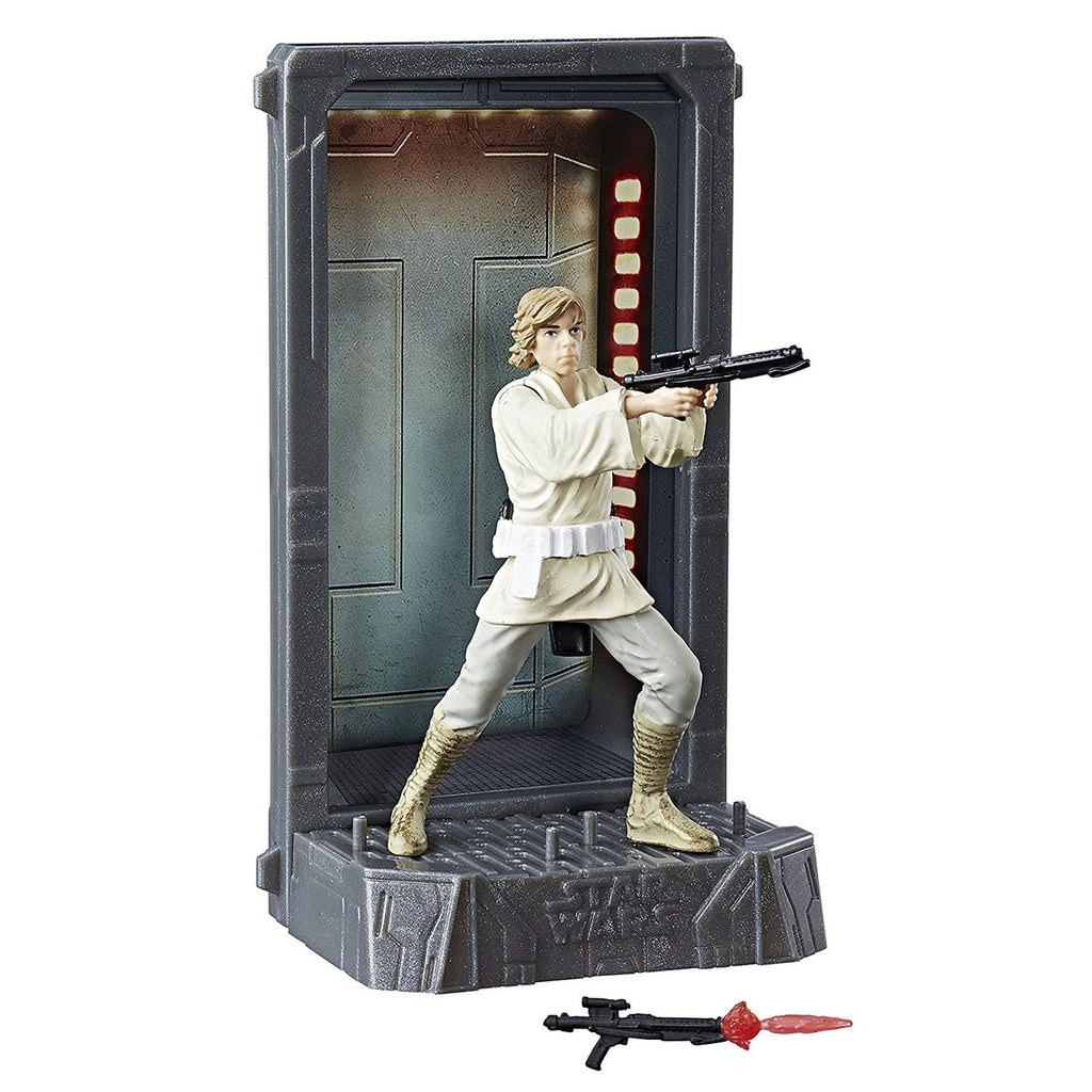 Star Wars Black Series 40th Titanium Luke Skywalker Figure