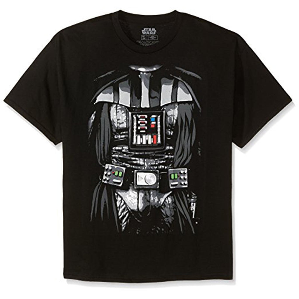 Star Wars Darth Vader Dark Costume Black Adult Tee Shirt