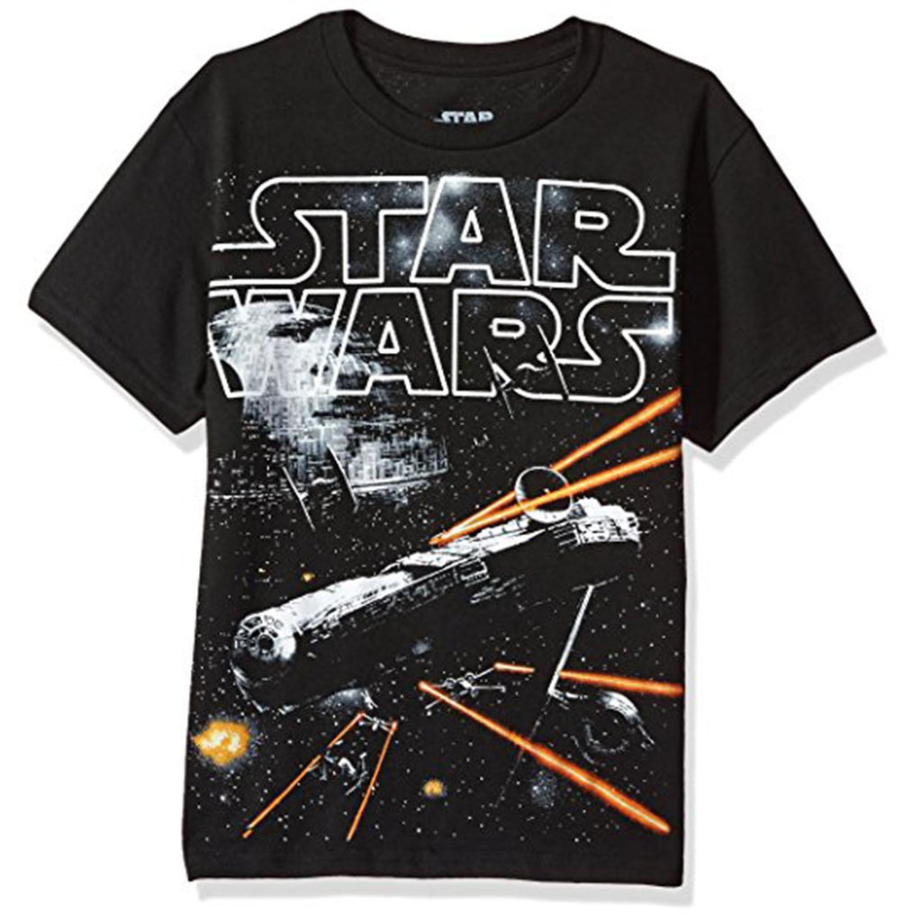 Star Wars On The Run Youth Tee Shirt
