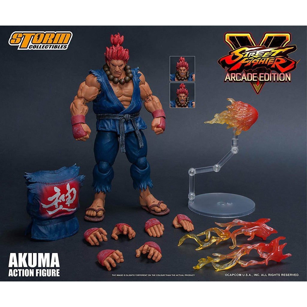 Storm Collectibles Street Fighter V Akuma Nostalgic Costume 7 Inch Figure