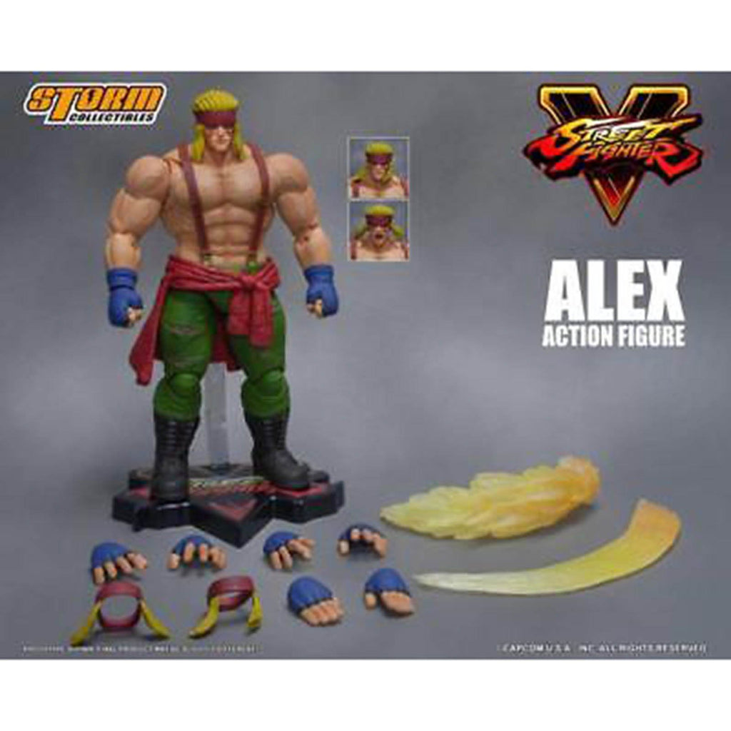Storm Collectibles Street Fighter V Arcade Alex 7 Inch Action Figure