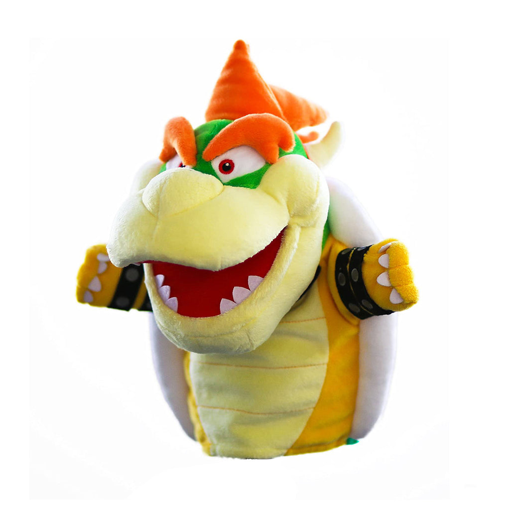 Super Mario Bowser 10 Inch Plush Puppet