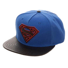 Hats - Superman Carbon Fiber Snapback Hat