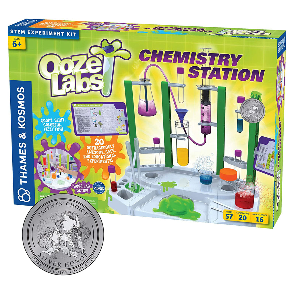 Thames And Kosmos STEM Ooze Labs Chemistry Station Set