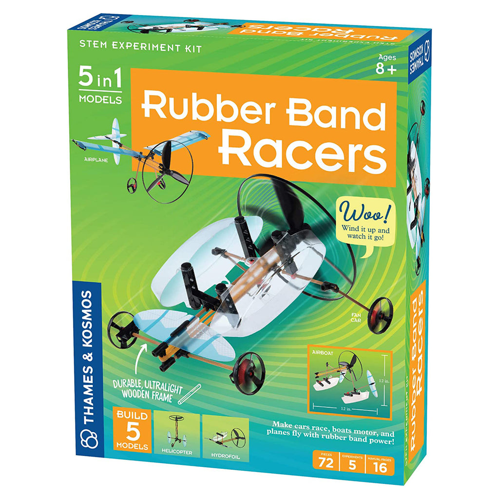 Thames And Kosmos STEM Rubber Band Racers Set