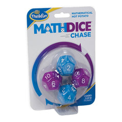 ThinkFun Math Dice Chase 4 Dice Set