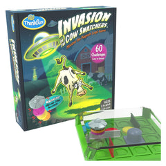 Thinkfun Invasion Of The Cow Snatchers Logic Game