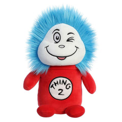 Aurora Dr Seuss Squishy Thing Two 9.5 Inch Plush