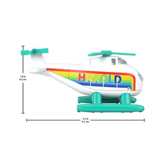 Thomas And Friends Small Engine Harold Rainbow Helicopter