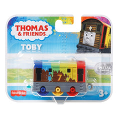 Thomas And Friends Small Engine Toby Rainbow Train
