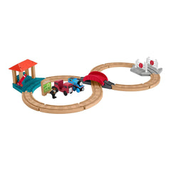 Thomas And Friends Wood Racing Figure 8 Set