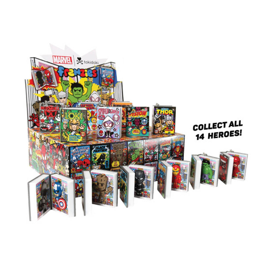 Tokidoki Blind Boxes - Tokidoki Marvel Frenzies Series 2 Blind Box Keychain