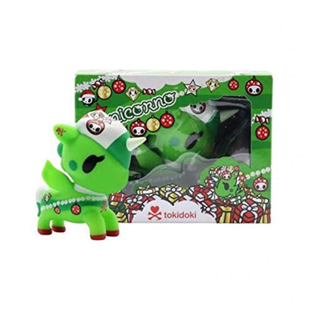 Tokidoki Unicorno Holiday 2018 Green Vinyl Figure