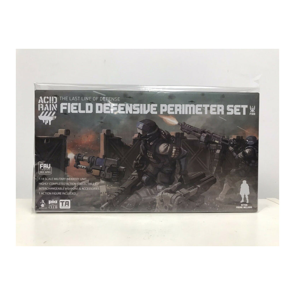 Toynami Acid Rain Field Defensive Perimeter Set