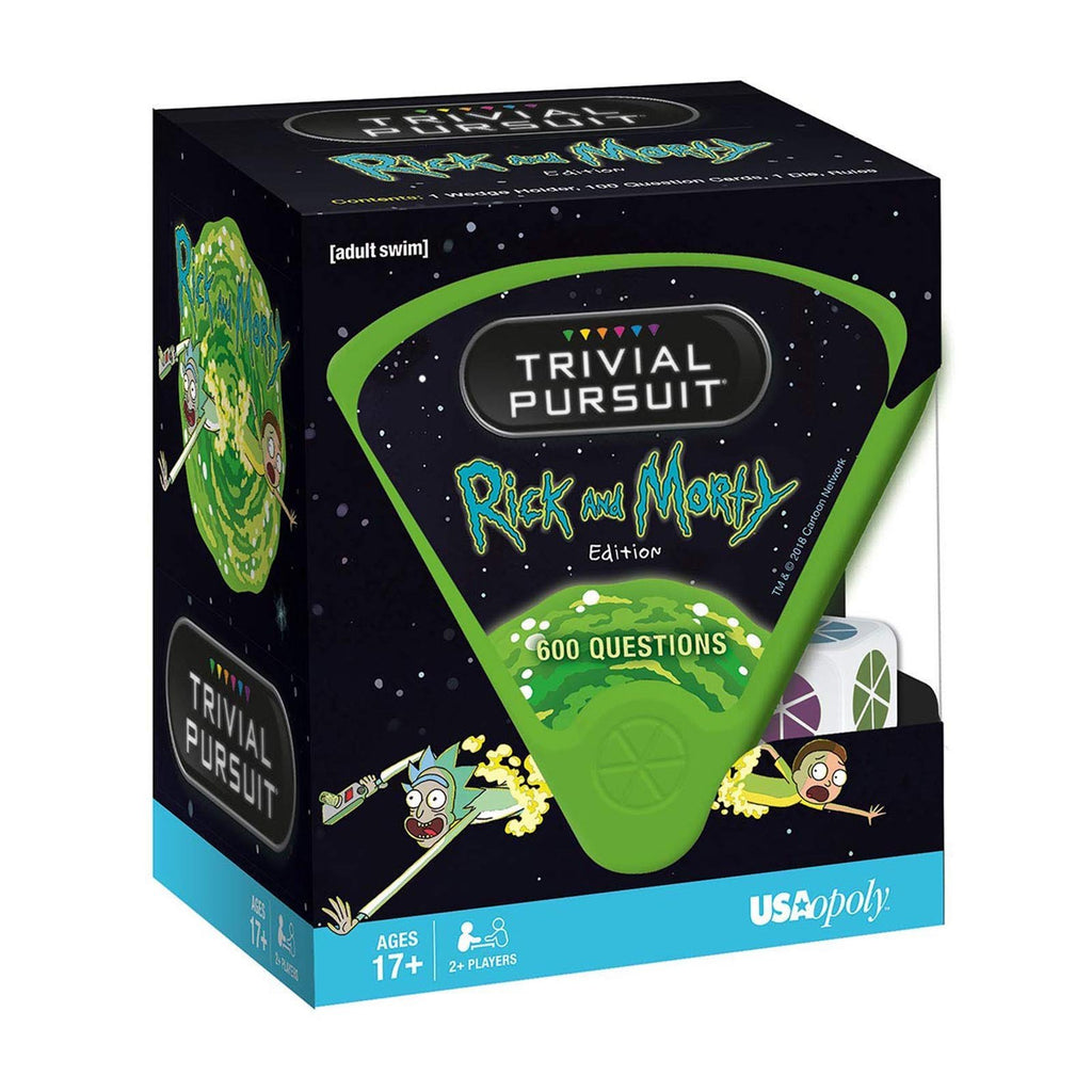 Card Games - Trivial Pursuit Rick And Morty Edition The Game