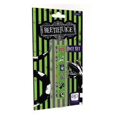 USAopoly Beetlejuice 6 Piece Dice Set