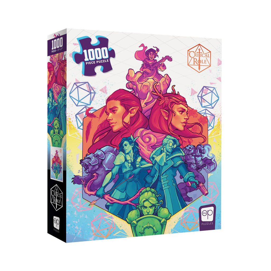 USAopoly Critical Role Vox Machina 1000 Piece Puzzle