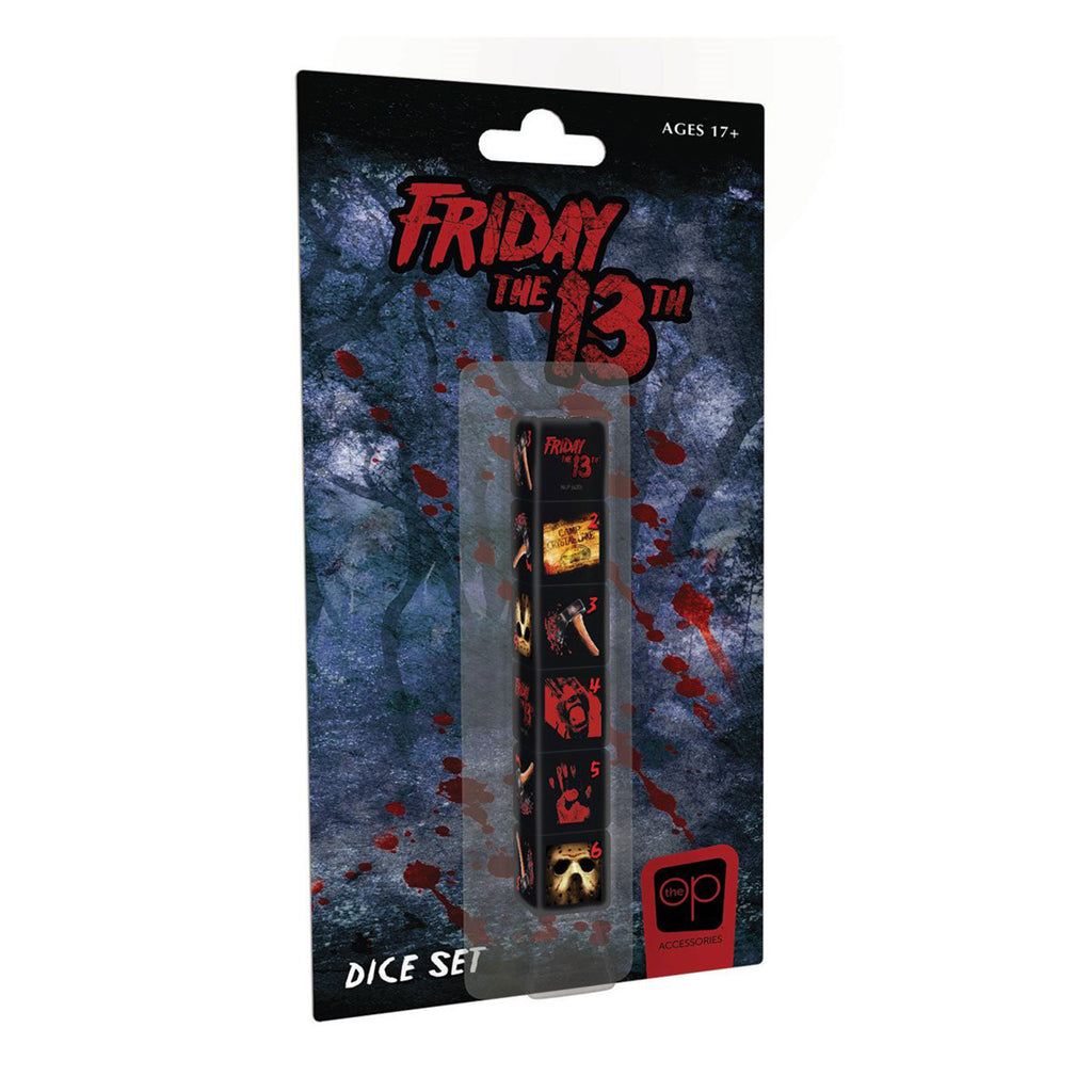 USAopoly Friday The 13th 6 Piece Dice Set