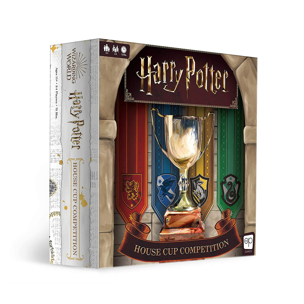 USAopoly Harry Potter House Cup Competition The Board Game