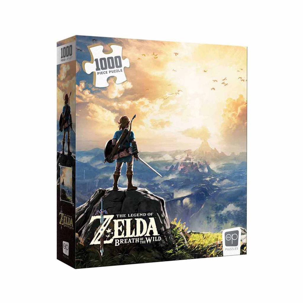 USAopoly Zelda Breath of The Wild Landscape 1000 Piece Puzzle