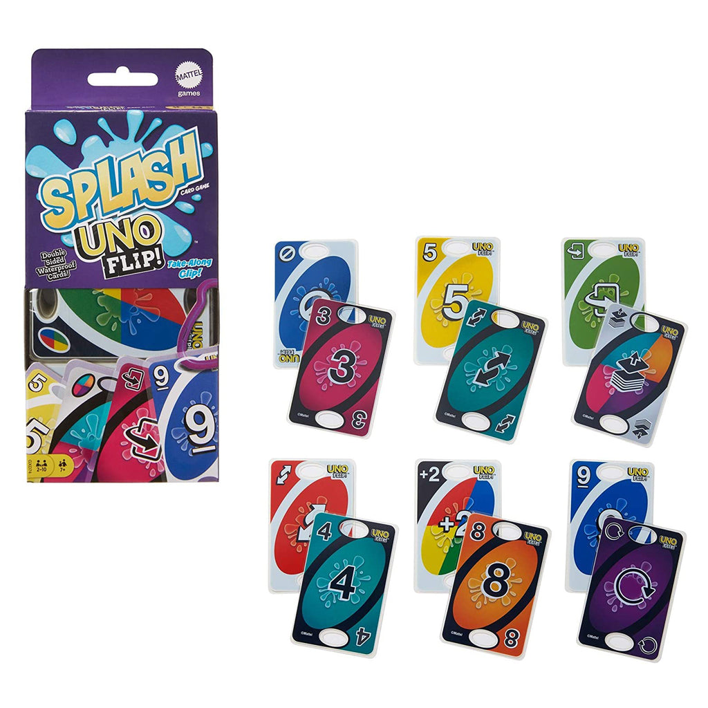 Uno Flip Splash The Card Game