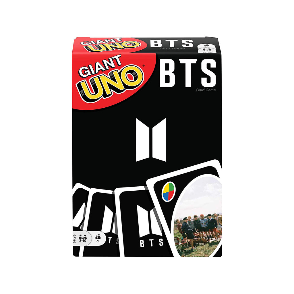 Uno Giant BTS The Card Game
