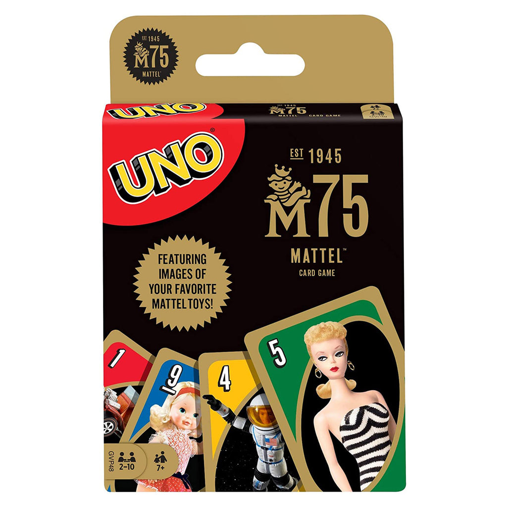 Uno Mattel 75th Card Game